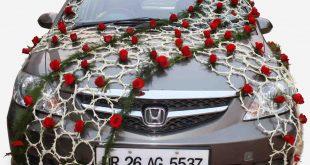 دیزاین ماشین عروس با تجهیزات ال ای دی