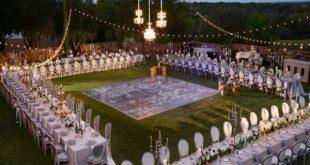 دکوراسیون های لاکچری مراسم عروسی