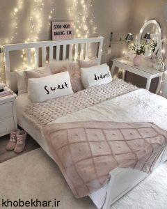 تخت و ریسه اتاق خواب