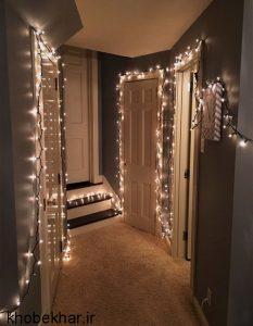 استفاده از ریسه نوری در خانه