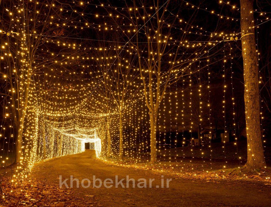 ریسه نوری برای ساخت تونل