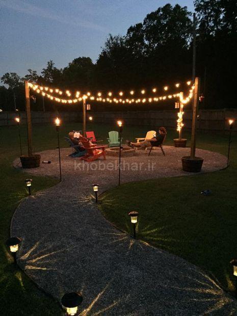 ریسه برای نورپردازی باغ