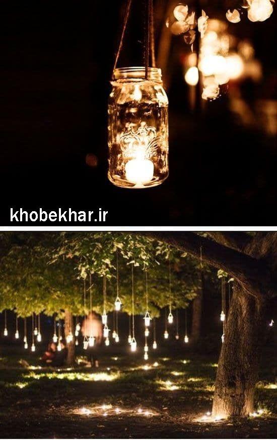 بطری شیشه ای نوری برای ساخت دکور عکاسی