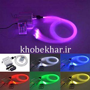 دستگاه نور برای فیبر نوری