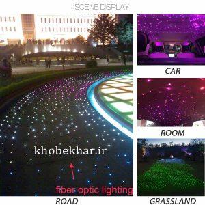 استفاده از فیبر نوری در خیابان