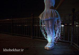فیبر نوری لباس
