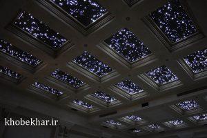 فیبر نورپردازی سقف