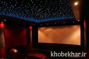 فیبر نورپردازی ویژه سقف