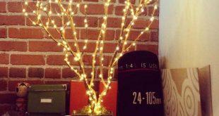 ساخت درختچه نوری در منزل
